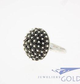 Vintage zilveren ring filigrain