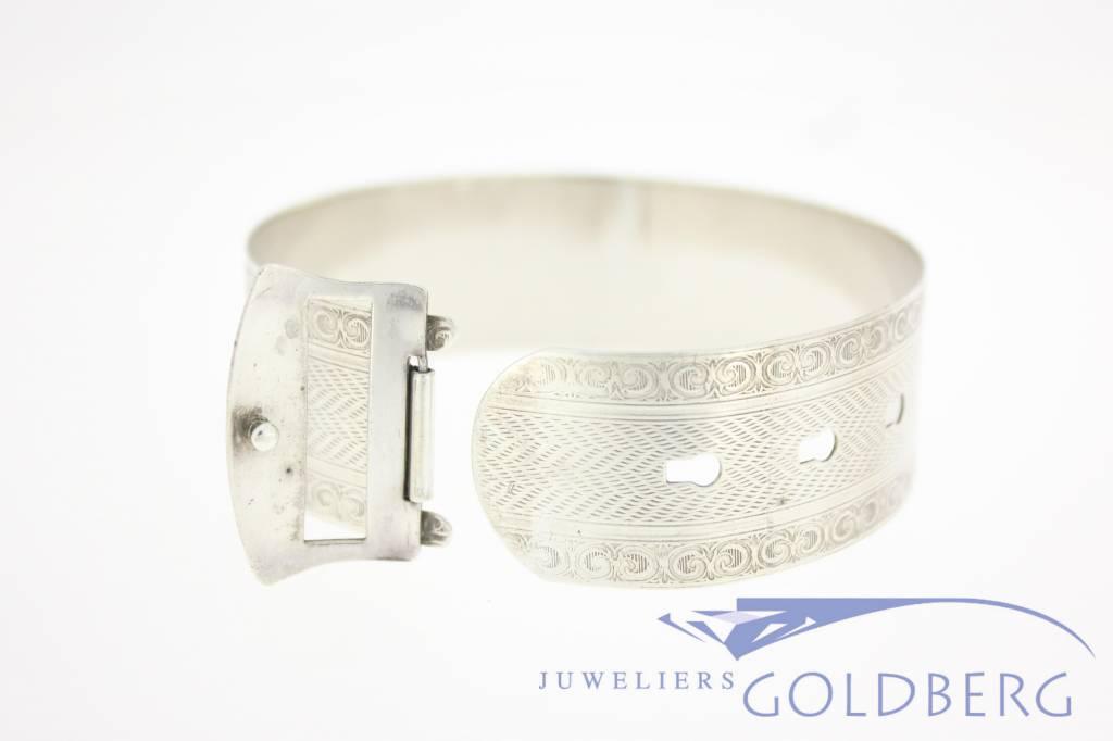 Antique silver bracelet/bangle 1920's