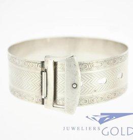 Antieke zilveren armband ca. jaren '20