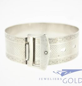 Antique silver bracelet/bangle 1920's