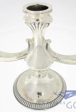 Vintage zilveren kandelaar Brussel 1963-1972