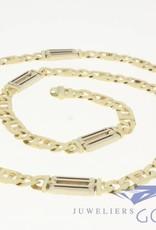 """Vintage 14k gold men's necklace """"Rolex chain"""""""