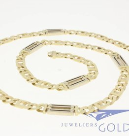 "SOLD Vintage 14k gold men's necklace ""Rolex chain"""
