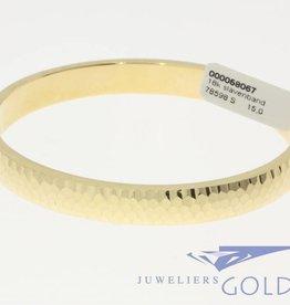 Vintage 18 carat golden bangle