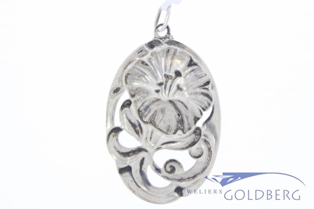 Antique silver pendant A. Landmeter 1925-1948