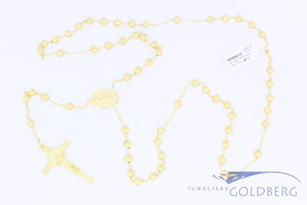 Yellow gold rosary