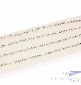 Vintage silver Venetian necklace 2,8mm 90cm