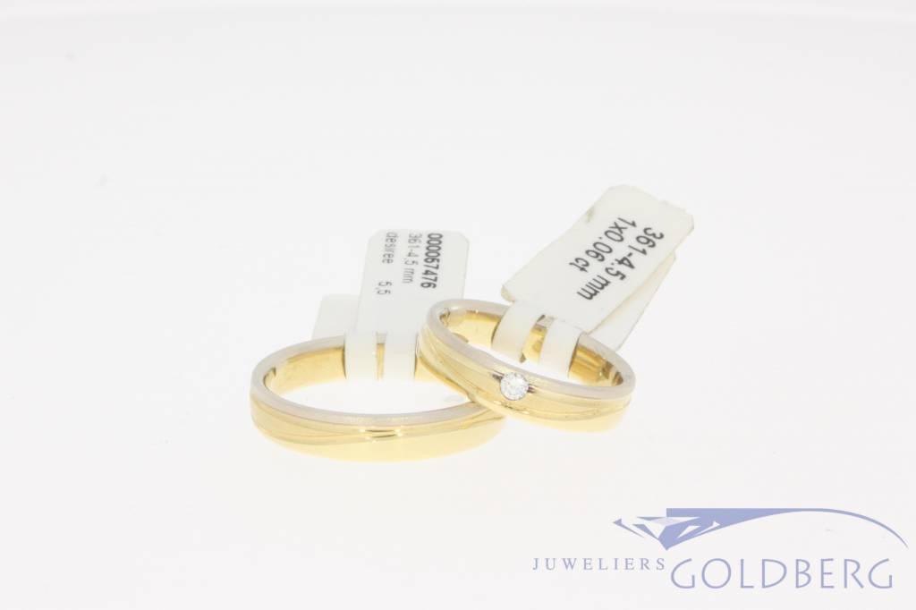 Desiree wedding band set 361-4,5mm