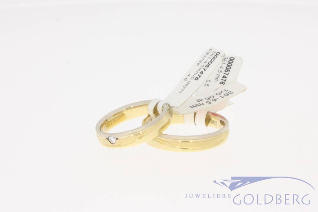 Desiree trouwringen set 361-4,5mm