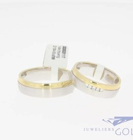 Wedding band set Promises 2155-60 + 2154-60