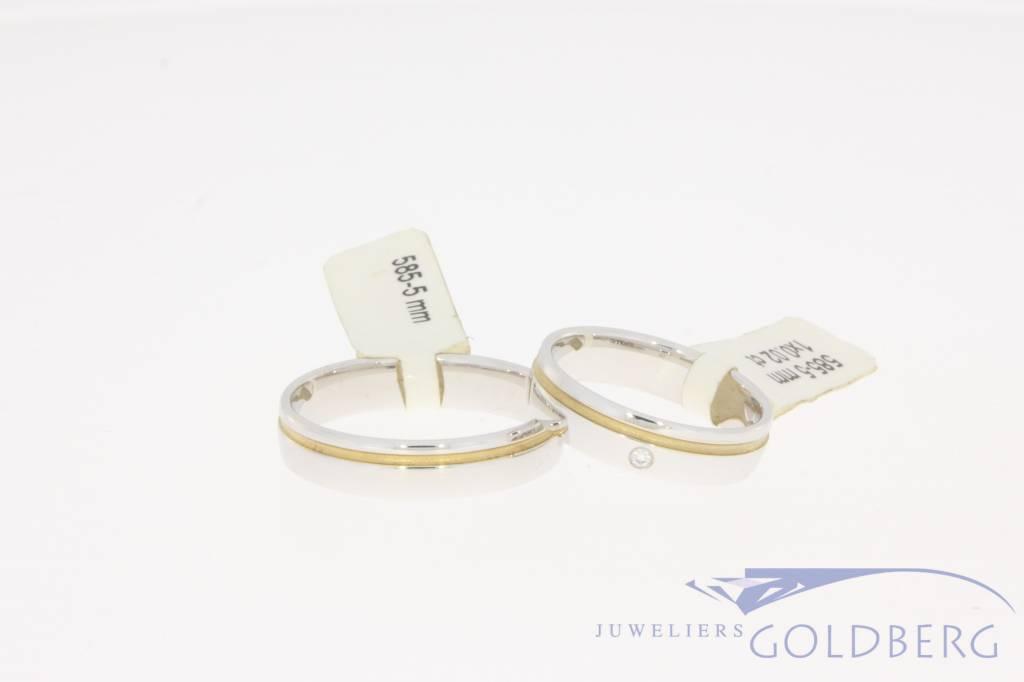 Desiree trouwringen set  585-5mm