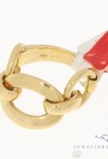 Vintage 18k geelgouden fantasie ring