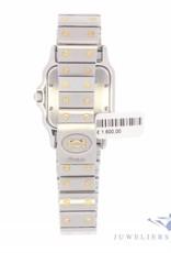 Vintage  Cartier Santos Galbée 187901 steel/18 carat bicolor watch