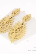 Vintage 18 carat gold earrings Portugal