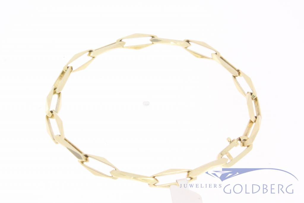 14k Closed Forever armband 6mm, 20,5cm