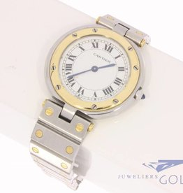 Cartier Santos Ronde 32mm steel-gold