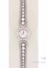Piaget ladies watch white gold with diamonds