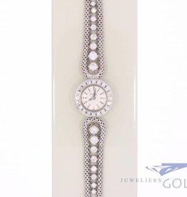 Piaget dames horloge witgoud met diamant