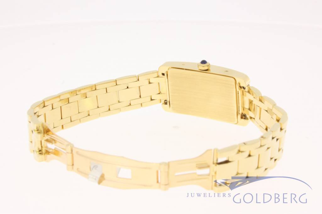 "18k gold ""Prestige"" ladies watch with 0.66ct in diamonds"