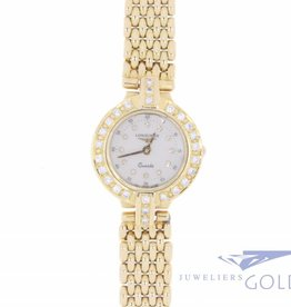 Longines Conquest 18k dameshorloge met diamant