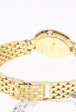 Longines Conquest 18k dameshorloge met diamant