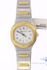 Vintage hexagon Jaeger leCoultre ladies watch gold-steel