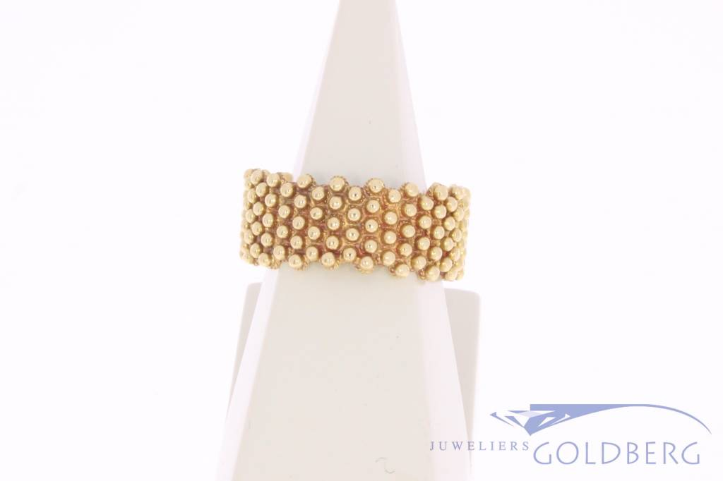 Antieke 18k gouden Zeeuwse ring
