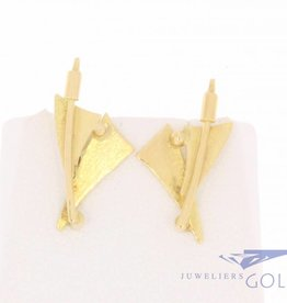 Anneke Schat 18 carat gold earrings