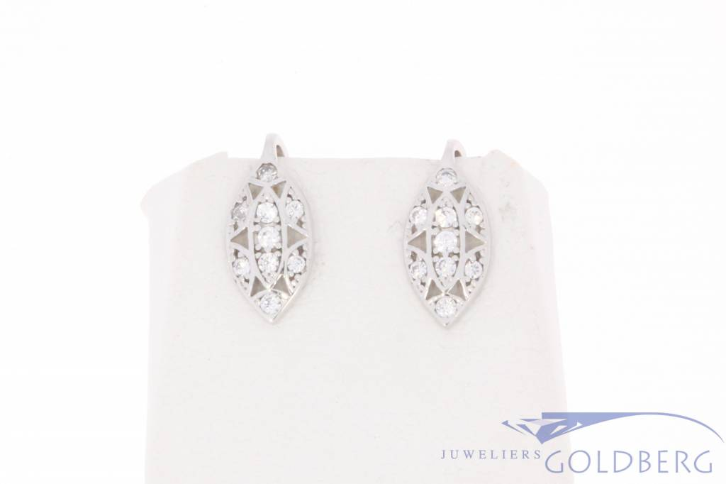 fashion carat diamond gold alkd earrings karat stud