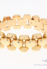 Vintage 18 carat rose gold bracelet