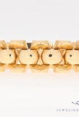 Vintage 18k rosé gouden armband