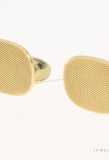 Vintage 14k gouden bewerkte manchetknopen