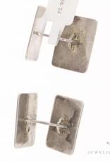 Antique silver adorned cufflinks 1906-1953