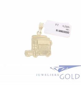 Daf Truck hanger 14k goud