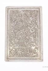 Vintage silver decorated cigarette case