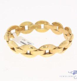 Vintage 14 carat gold link bracelet