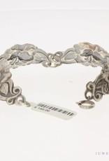 Antieke zilveren armband in bloemmotief 1906-1953
