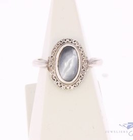 Vintage silver ring with Cat's eye