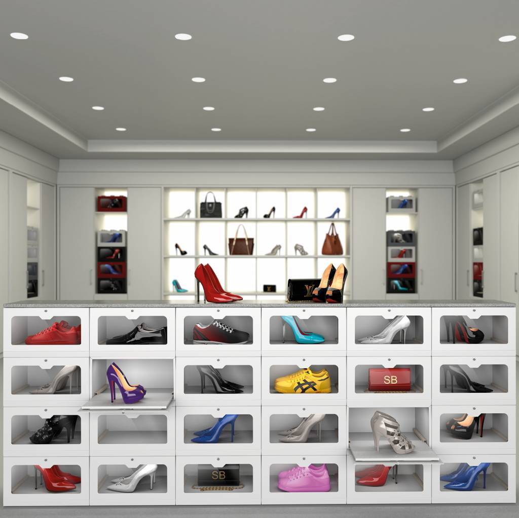 Modern storage for shoes, accessories, toys and much more.