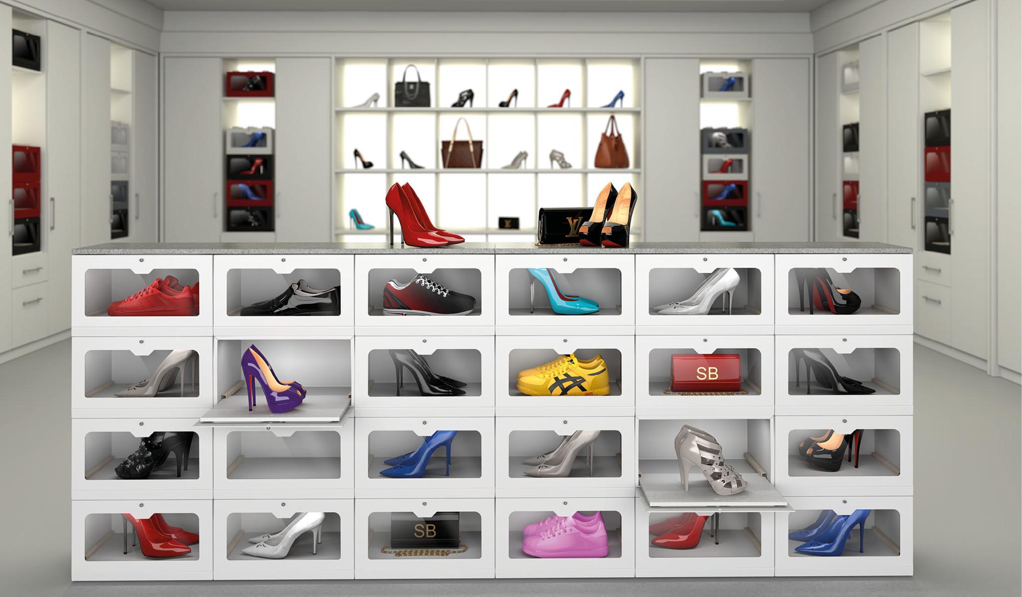 showbox sneaker aufbewahrung sneaker box nachhaltige aufbewahrung showbox more than. Black Bedroom Furniture Sets. Home Design Ideas