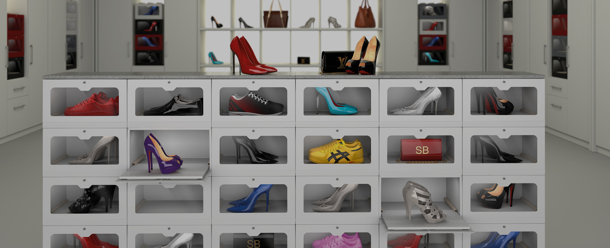 SHOWBOX - storage, modular shoebox, shoebox, Sneaker Box