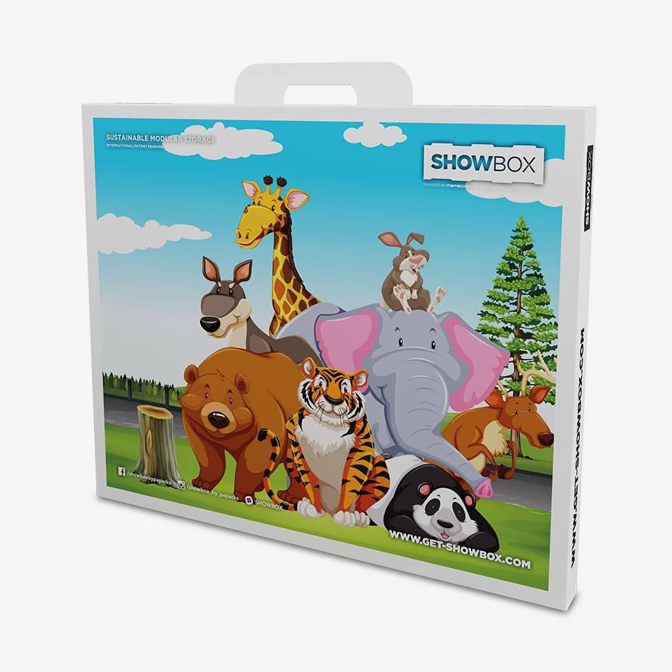 SHOWBOX LIMITED Edition - Comic Animals - Aufbewahrung, Sneakerbox