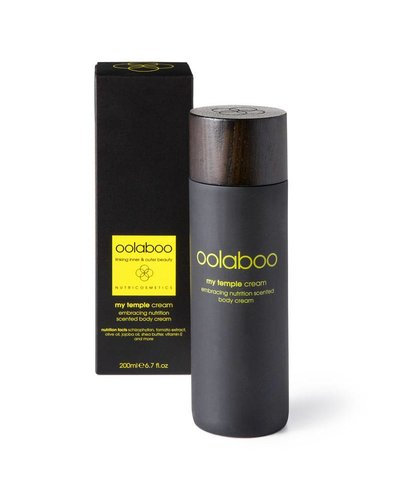 Oolaboo My Temple Embracing Nutrition Scented Body Cream 200ml