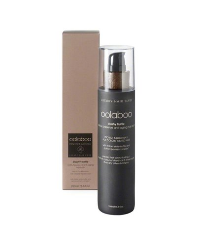 Oolaboo Blushy Truffle Colour Preserve Anti-Aging Hair Bath 250ml