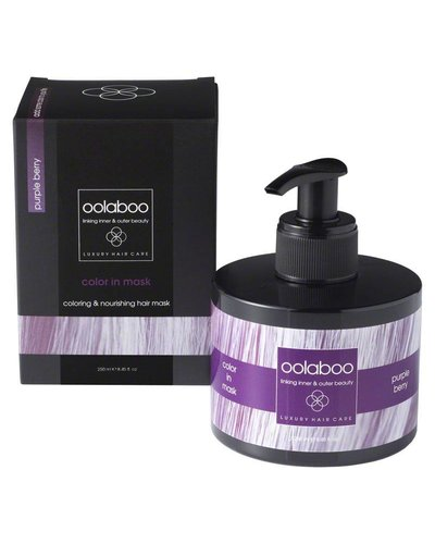Oolaboo Color In Mask Purple Berry 250ml