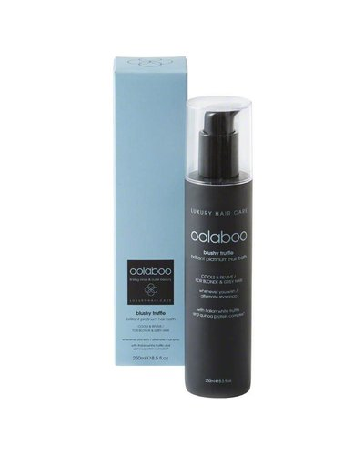 Oolaboo Blushy Truffle Brilliant Platinum Hair Bath 250ml