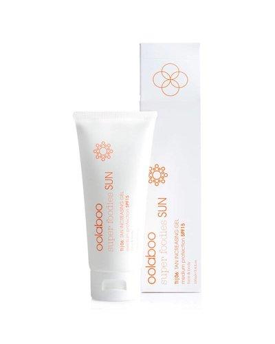 Oolaboo Super Foodies Sun TI|06: Tan Increasing Gel SPF15 100ml