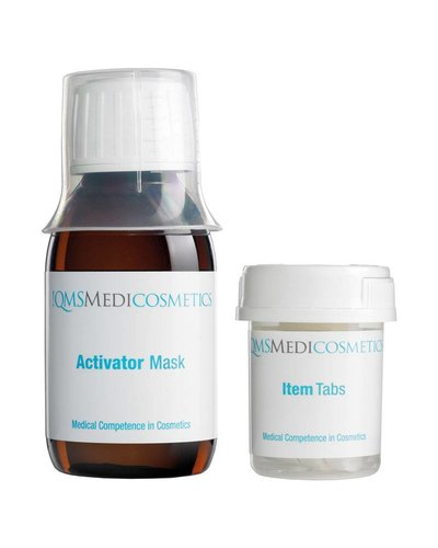 QMS Skin Activator Mask 100ml + 8 Item Tabs
