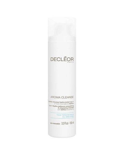 Decléor Aroma Cleanse 3-in-1 Hydra Radiance Smoothing & Cleansing Mousse 100ml