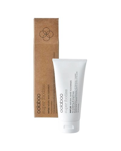 Oolaboo Oolaboo Super Foodies NWT|00: Natural White Toothpaste 100ml